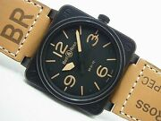 Bell And Ross Br01-92 Heritage 46 Mm Japan Genuine Products Mensbr01-92 Heri-ca