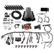 Fitech 78101 Ls Kit W/ 70001 Plus Inline Fuel Pump And Coil Pack