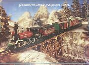 Brand New New Bright Greatland Holiday Express Train G-scale No.195 No.189