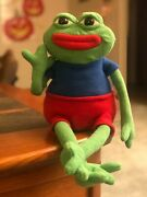 Rare Pepe The Frog Plush New Unopened Hashtag Collectibles