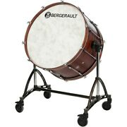 Bergerault Concert Bass Drum 36x22 With Tilting Stand 36 X 22 In. Ln