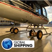 Ground Handling Wheels For Helicopters Bell 206 Jet Ranger - Helimob 206