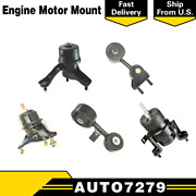 Dea Engine And Trans Mount Set Of 5 At Fits 2007-2009 Toyota Camry 2.4l Hybrid