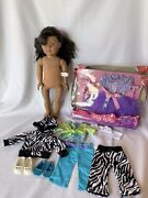 """African American 2009 Madame Alexander 18"""" Doll+ Accessories Lot Wow"""