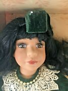 Collectors Choice Bisque Porcelain Musical Doll Limited Edition Nib With Coa 13
