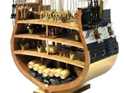 New Model Classics Sail Boat Model Kits Uss.constitution Section 1794 Wooden S