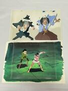 Lupin The Third Animation Cel 14 Jigen Goemon Set Of Two Animation Cels