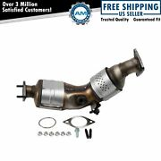 Front Driver Side Catalytic Converter Assembly With Gaskets For Infiniti Nissan