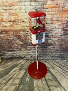 St. Louse Cardinals Gumball Machine Vintage Candy Dispenser Man Cave Gift