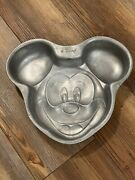 Disney Parks And Resorts Exclusive Metal Mickey Mouse Baking Dish Cast Exclusive
