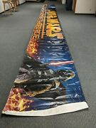 Star Wars 36and039 X 4and039 Huge Banner Display Darth Vader Luke 48 Hours Of The Force