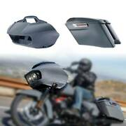 Inner Outer Fairing 4 Stretched Hard Saddlebags Fit For Harley Road Glide 15-21