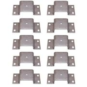 10 Bolt On Tapered Stake Pockets For Truck And Trailer Side Walls