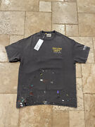 Gallery Dept Tokyo Exclusive Anniversary Painted Brown Tee Size Large