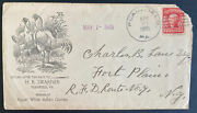 1905 Plainfield Pa Usa Illustrated Advertising Cover To Fort Plain Ny