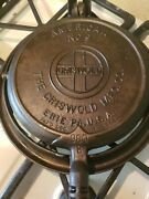 Griswold American No.9 Cast Iron Waffle Maker