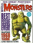 Famous Monsters Of Filmland 1968 Yearbook 9.6 Gem Mint Perfect Collectors Editi