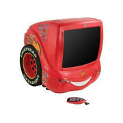 Disney Cars Tv With Dvd 14'' With Remote Lightning Mcqueen Sealed Super Rare New