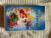 The Little Mermaid Vhs Banned Cover Black Diamond Edition Original Discontinued