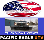 Ford Truck 88 Winter Wolf Snow Plow Kit With An Actuator Lift System