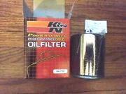 Big Dog Motorcycles Kandn Chrome Oil Filter Kn-170c Wrench Off American Ironhorse