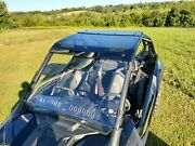 2020+ Polaris Rzr Pro Xp Scratch Resistant Windshield With Quick Clamps And Vents