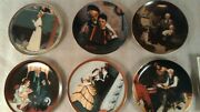 Nice Variety Of 9 Knowles Norman Rockwell Decorative Plates W Coas, Plus 1 Extra