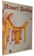 Minuet Medley By J.s. Bach Piano Solo 1965 Classical Sheet Music