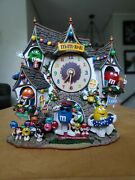 Rare Find Mandmand039s Bed And Breakfast Clock By Danbury Mint New In Box 2005