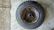 917.8320 Vintage Sears Craftsman Lawn Tractor Heavy Duty Rear Tire, Wheel And Tube