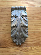 Rms Olympic Bronze Acanthus Leaf Decoration / White Star Line / Rms Titanic
