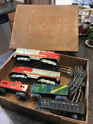 Marx Santa Fe Diesel Train Set, With Original Box, You Get All Pictured