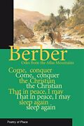 Berber Odes Poetry From The Mountains Of Morocco Poetry Of Place Paperback