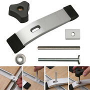 Useful Metal Quick Acting Hold Down Clamp Sets For T-slot T-track Woodworking