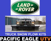 Landrover Discovery 82 Winter Wolf Snow Plow Kit With An Actuator Lift System