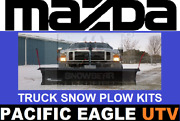 Mazda 82 Winter Wolf Snow Plow Kit With An Actuator Lift System