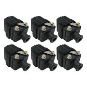 6pcs Ignition Coils For Mercury Outboard 150hp 150 Hp Eng 1978-1980 1982-1999