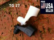 Amc Vehicles Door Rod Clips Gremlin Pacer And More 1969 - 1988 1-pair Tg-27