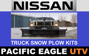 Nissan Truck 82 Winter Wolf Snow Plow Kit With An Actuator Lift System