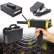 1km Metal Detector Led Digital Gold Silver Copper Prospecting Detector And Adapter