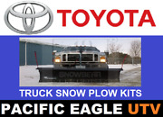 Toyota 82 Winter Wolf Snow Plow Kit With An Actuator Lift System
