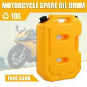 10l Portable Petrol Fuel Gasoline Cans Tank Can For Motorcycle Car Atv Utv