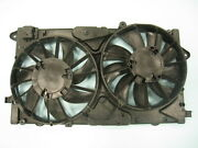 Dual Radiator And Condenser Cooling Fan Assembly For 10-16 Buick Lacrosse/allure