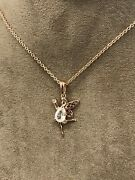 Official Welsh Clogau Rose Gold 9ct Fairy Pendant 22 Andpound180 Off