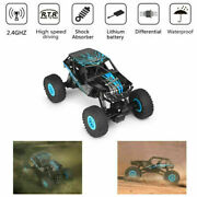 Wltoys 10428-d 1/10 Scale 2.4g 4wd Electric Brushed Crawler Rtr Rc Toy Car H2