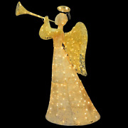 Christmas Angel Led Light Outdoor Front Door Art Decoration Lighted Display 5' H