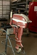 Vintage 1957 Johnson Seahorse 10hp Outboard And Gas Tank Included