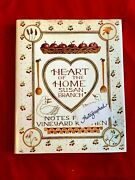 Heart Of The Home Notes From A Vineyard Kitchen Susan Branch Signed Autographed