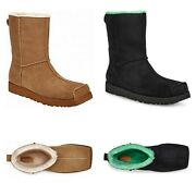 New 525 Ugg Eckhaus Latta Men's Classic Colorblock Shearling Boots Size And Color