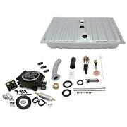 64-66 Ford Mustang Fuel Injection Tank And Efi Master Kit Black